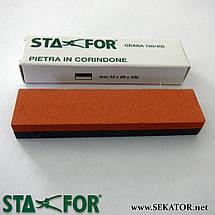Синтетичний точильний камінь STAFOR 990 (Італія), фото 2