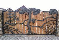 Эксклюзивные кованые ворота, код: 01084
