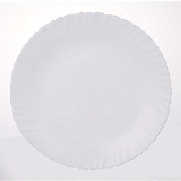 """Тарелка Ø 25 см """" Белое 2"""""""