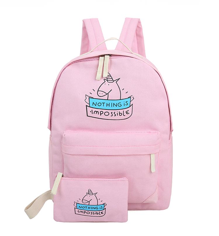 cdc2e8e913d3 Школьный рюкзак 2 в 1 с единорогом - Интернет-магазин Mak-Shop в Днепре