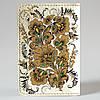 Обложка на автодокументы Fisher Gifts v.1.0. 364 Петриковский огнецвет (эко-кожа), фото 5