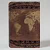 Обложка на автодокументы v.1.0. Fisher Gifts 373 Черепаха мира (эко-кожа), фото 5