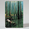 Обложка на автодокументы Fisher Gifts v.1.0. 377 Водный лес (эко-кожа), фото 5