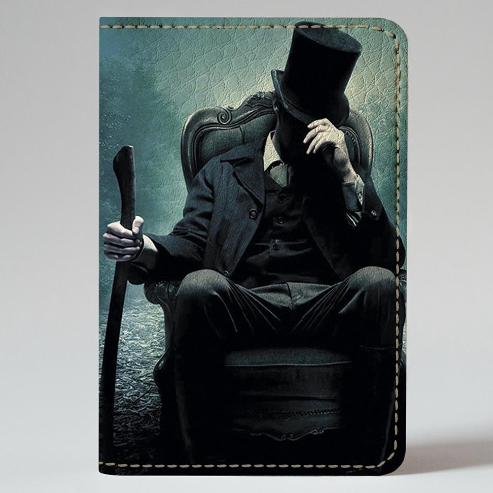 Обложка на автодокументы Fisher Gifts v.1.0. 378 Таинственный мужчина (эко-кожа)