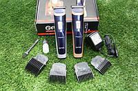 Профессиональная мужская электро машинка для стрижки волос  Gemei GM 6005