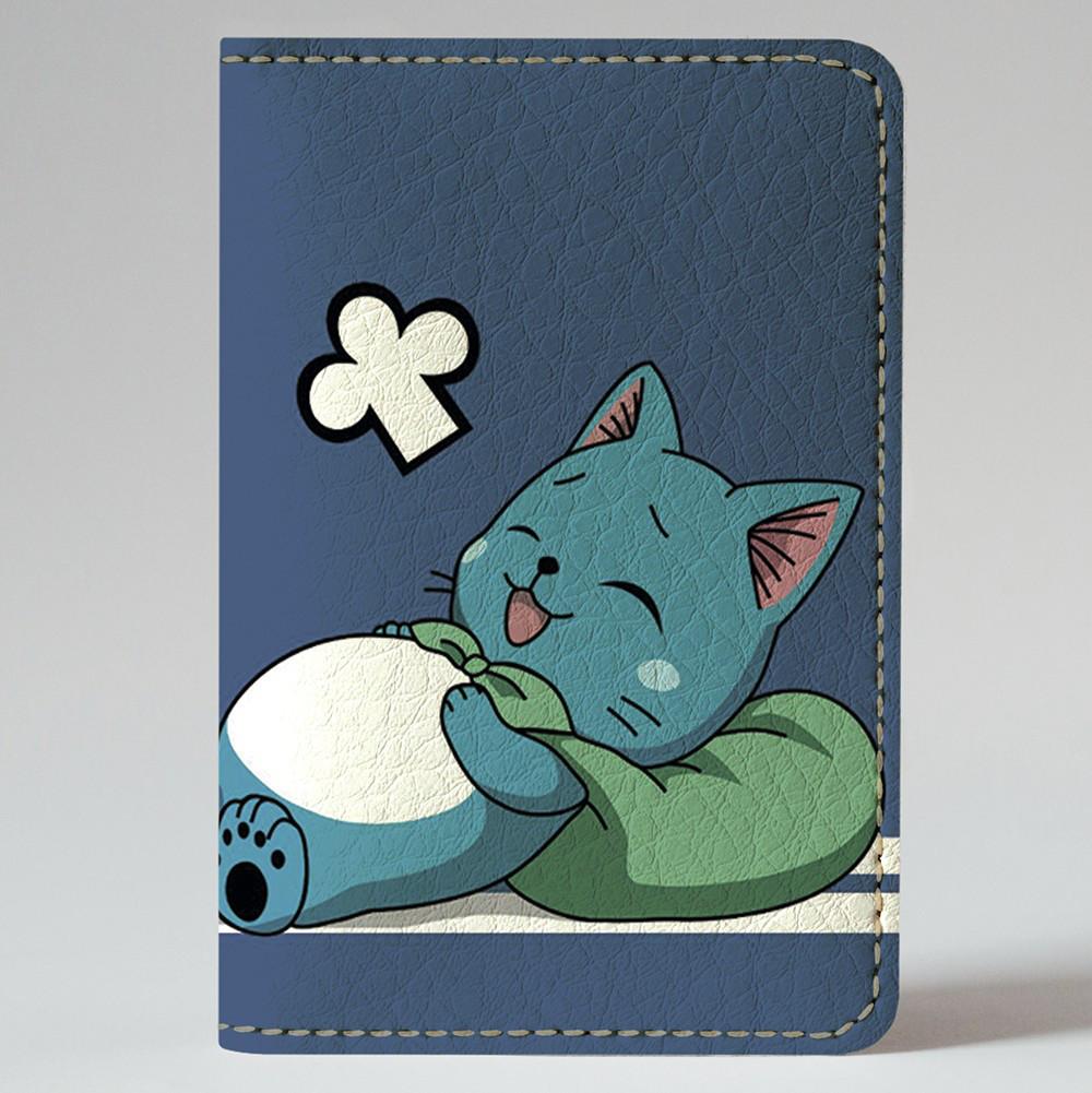 Обложка на автодокументы Fisher Gifts v.1.0. 388 Fairy Tail (эко-кожа)