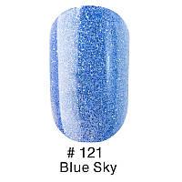 Гель-лак Naomi №121 Blue Sky ,6 мл