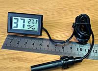 Универсальный влагомер-термометр для инкубатора цифровой с выносным датчиком