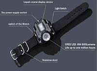 Противоударные тактические часы с фонариком  (Q5) HL-333В