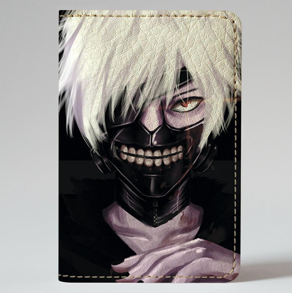 Обложка на автодокументы Fisher Gifts v.1.0. 417 Tokyo Ghoul 3 (эко-кожа)