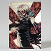 Обложка на автодокументы Fisher Gifts v.1.0. 422 Tokyo Ghoul 8 (эко-кожа), фото 5