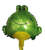 Фольгированный шар Лягушка маленькая 38 х 30 см.