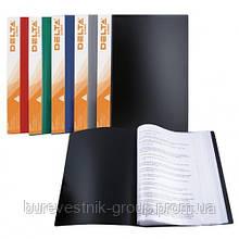 Дисплей-книга Delta D1540, А4, 40 файлов