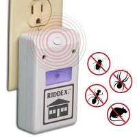 Электронный отпугиватель насекомых и грызунов Riddex plus( от комаров, тараканов, пауков, мышей, крыс и т.д)