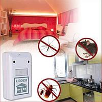 Ультразвуковой отпугиватель riddex от тараканов, грызунов и насекомых, RIDDEX Plus Pest Repelling Aid