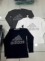 Модная темно синяя  брендовая кофта для мальчиков 122-152