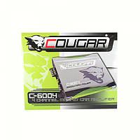Качественный усилитель в авто Cougar CAR AMP 600.4