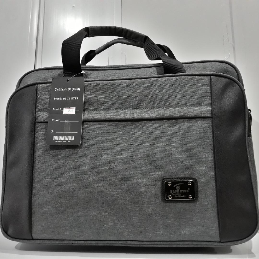 2deeac420228 Стильная сумка для ноутбука и документов. Декоративная вставка из ткани.  Современная, профессиональная модель