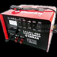 Пусковое зарядное устройство 200 А для аккумулятора авто, быстрая зарядка Boost 12/24 В, 45 А, Erman EW 215