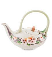 """Фарфоровый заварочный чайник """"Виола"""" (Pavone) FM- 59/ 1"""