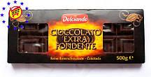 Черный шоколад Dolciando Cioccolato Extra Fondente , 500 г