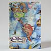 Обложка на автодокументы Fisher Gifts v.1.0. 560 Наша с тобой карта мира (эко-кожа), фото 5