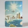 Обложка на автодокументы Fisher Gifts v.1.0. 557 Вокруг света (эко-кожа), фото 5