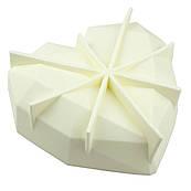 Форма для евродесерта Amore Origami (Серце орігамі)