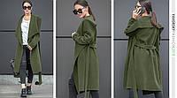 """Пальто Yavorsky """"Софи"""" женское модное демисезонное с отложным воротником кашемир разные цвета GY784, фото 1"""