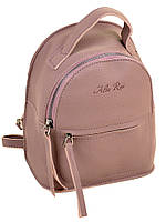 Сумка Женская Рюкзак иск-кожа ALEX RAI  2-03 10163 grey-purple. Брендовые женские рюкзаки купить недорого