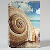 Обложка на автодокументы Fisher Gifts v.1.0. 588 Раковины на пляже (эко-кожа), фото 5