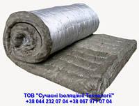 Мат мінераловатний прошивний на основі базальтового волокна в обкладці з склосітки