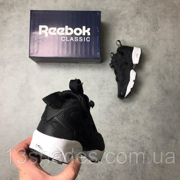 Женские кроссовки Reebok Insta Pump Fury OG Black White (Рибок Инста Памп) 40eb61679e515