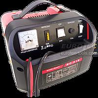 Зарядний пристрій для акумуляторів 12/24 В, 15 А, автомобільний, швидка зарядка BOOST, Worcraft BC 218, фото 1