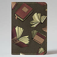 Обложка на автодокументы Fisher Gifts v.1.0. 632 Книги в растрёп (эко-кожа)