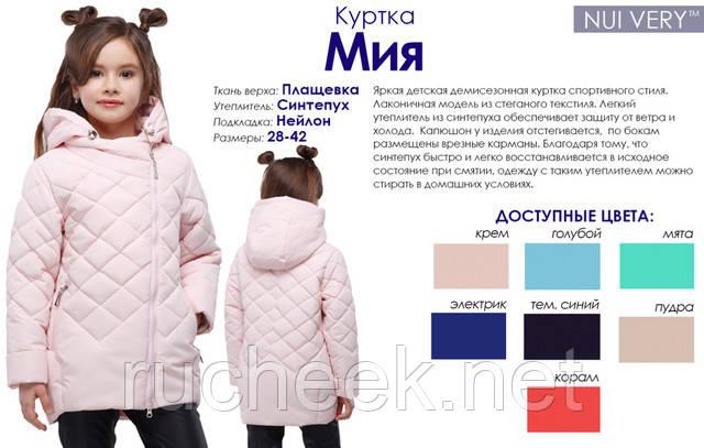 Весенние куртки девочкам, Новомосковск
