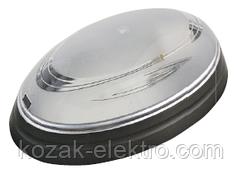 Светильник пластиковый NINOVA  черный металлик (дымчастый)