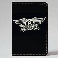 Обложка на автодокументы v.1.0. Fisher Gifts 737 Aerosmith (эко-кожа)