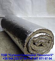 Мат теплоізоляційний мінераловатний з одностороннім покриттям алюмінієва фольга