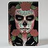 Обложка на автодокументы Fisher Gifts v.1.0. 759 Девушка Santa Muerte (эко-кожа), фото 5