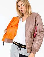 Куртка женская MA-1 W flight jacket Alpha Industries, фото 1