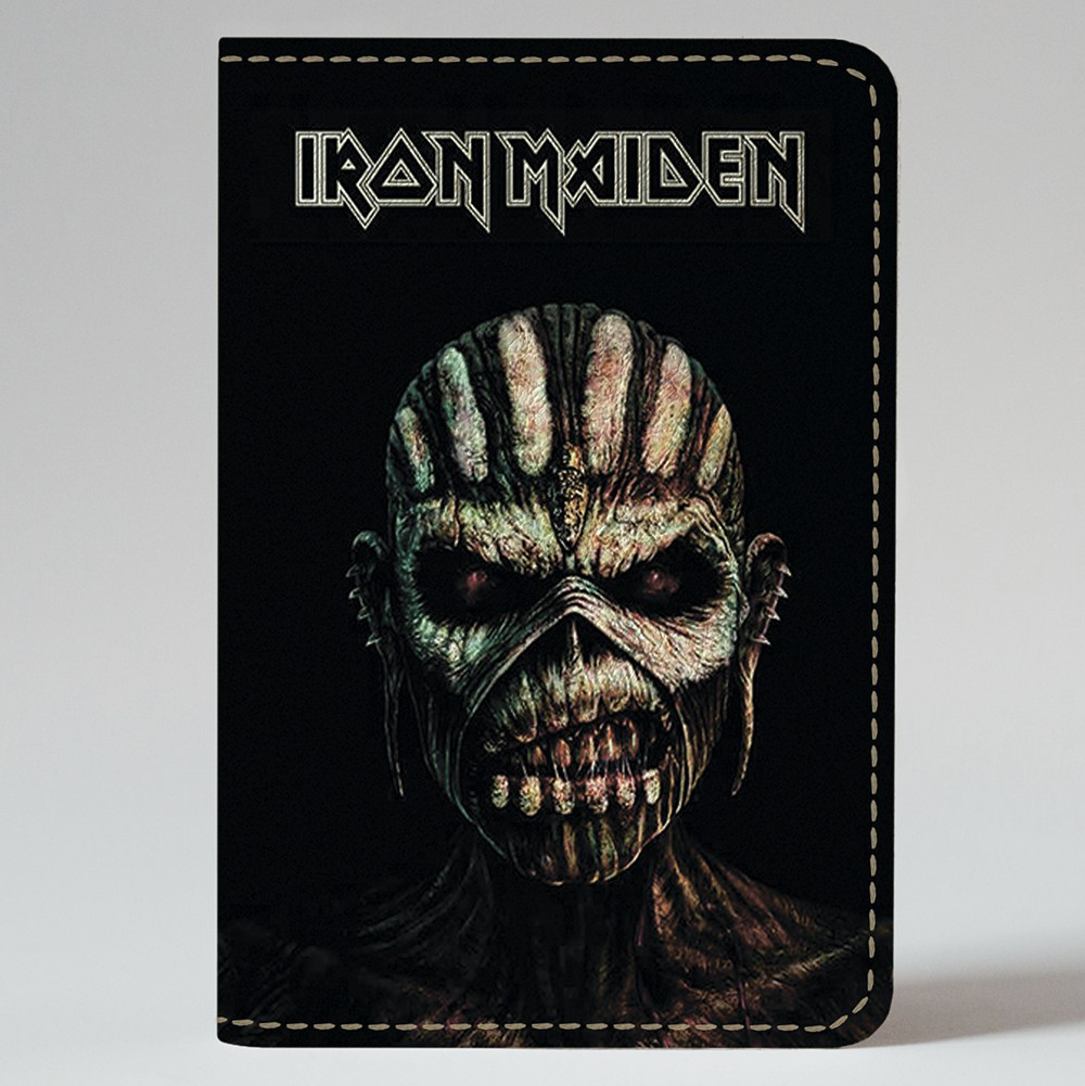 Обложка на автодокументы 1.0 Fisher Gifts 824 Iron Maiden (эко-кожа)