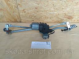 8E1 955 023 E Трапеция механизм моторчик стеклоочистителя Audi A4 B7 8E1 955 119 BOY