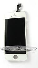 Дисплейний модуль Apple iPhone 5S, білий