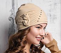 Женская  модная  шапка Ludmila из натурального велюра,  Willi.