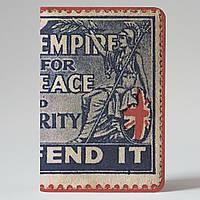 Обложка на автодокументы Fisher Gifts v.1.0. 898 British empire (эко-кожа)
