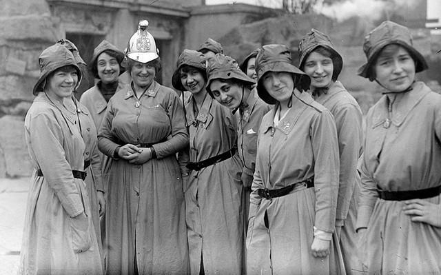 Первая Мировая Война женщины
