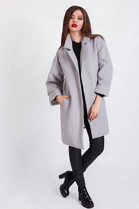 """Женское кашемировое пальто """"VAINE"""" с карманами (3 цвета), фото 2"""