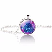 Кулончик Космос на цепочке. Галактика, фото 1