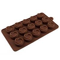 Форма для конфет силикон Вихрь